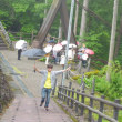 苔寺平泉寺白山神社・夢のかけはし九頭竜湖・渓谷美かずら橋