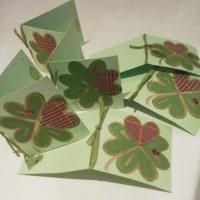 エムル手作りカード、四つ葉