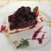 九十九里ハーブガーデンのブルべりーケーキは絶品^0^