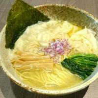 東大和ラーメン大冬樹  牡蠣塩ワンタンメン!!
