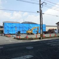 広島県福山市三吉町3丁目6・月極備陽第2駐車場に解体業者の車両