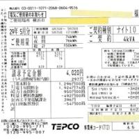 電気使用量と余剰購入電力量の精査「2017年5月分 ミニソーラー横浜青葉発電所」