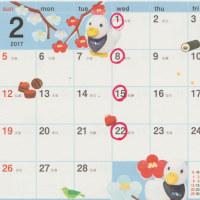 2/2 トリミング会員カード(割引あり)スタート! & 2月も暦通りの診療です。