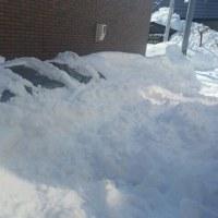13Cmの積雪