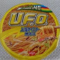 日清40周年 UFO上海オイスター焼きそば
