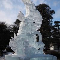 ★国宝松本城氷彫フェスティバル2017開催中