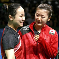 ブラジル五輪 女子卓球 日本 vs ブラジル 3対1 で 日本が勝利!(銅メダル!)。