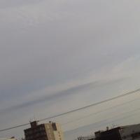 2017/4/30/ 4月最終日午前6時半前札幌の空模様