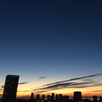 1/12の朝の空