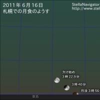 満月札幌 皆既月食が見られる時間