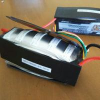 リチウムポリマー充電池がパンパンに