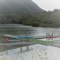2016.10.16 府中湖でカヌー大会観戦 + α