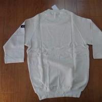 日産スカイライン 通称ケンメリの白の7分袖トレーナー Ken&Mary