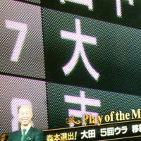 サヨナラ打の田中賢介選手 感極まった!