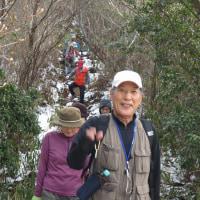 ⑪ 鈴ヶ峰山~鬼ヶ城山縦走登山 : 東西峰ピストン  UP3日目