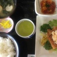 5月22日の日替り定食(550)は、トンカツ、おろし橙ポン酢 です。