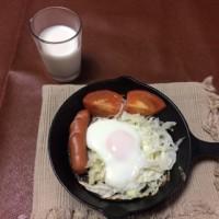 朝食は ニトスキで