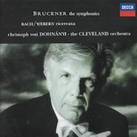 C.ドホナーニ+クリーヴランド管=ブルックナー・交響曲集