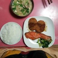 今日の晩御飯。^^