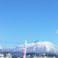 冠雪岩手山