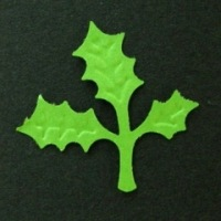 【クラフトパンチ】クリスマスにはholly<ヒイラギ・ホーリー>shopWA・ON