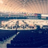 東京ドーム   テーブルウェアフェスティバル終了