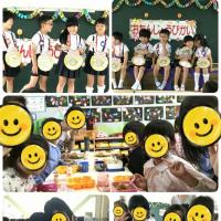 幼稚園での誕生日会