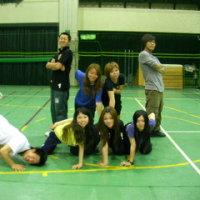 ダンス部 スポーツフェスティバルに向けて練習中
