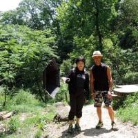 山ボーイ・ジャッキー(摂津峡編) murmuring of a stream made us cool even in a hot day