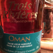 BAR ZEROのラム酒(トロワリヴィエール・オーマン)