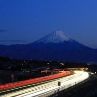 明野町からの中央道