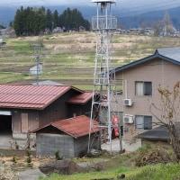 木島平村穂高の火の見櫓