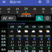 20170624(土)大潮 松山市・今出 夜釣り