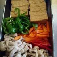 うまソースで 厚揚げのたっぷり野菜