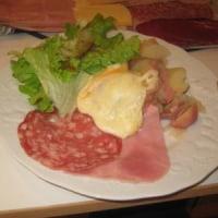 2009年12月2日(火) 夕食(ラクレット)