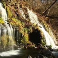 初冬の吐竜の滝