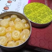 フルーティアロマのど飴と、銀のぶどうのチョコレートサンド<アーモンド>・・・(東京駅グランスタ) 【スイーツ】