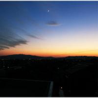 今日の夕景(Mar28)