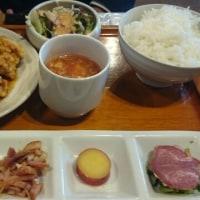 松江、桃仙閣でお昼