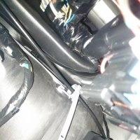 ジムニーJB23W 9型の アンテナ交換