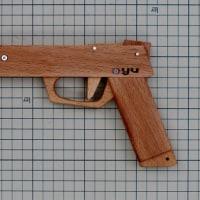 ブナ材でゴム銃製作