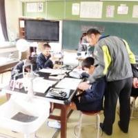 2月24日(金)小中一貫教育「授業交流」