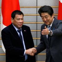 【KSM】ドゥテルテ大統領が安倍首相と会談 「(南シナ海問題)今語るときでない」「時が来た時には日本の側に立つ」