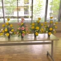 講師の活動「花の会」♪