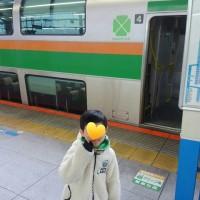 雨だけど横浜へ