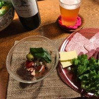 辻さんのガラス  夕食