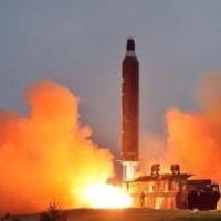 北の弾道ミサイル 最大高度71キロ・数分飛行=韓国軍・・・サイバー攻撃?