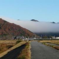 霧の滝(?)