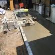 臭い物には蓋をする的な 土間モルタル工事 茨城取手