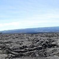 溶岩台地とレインボーホール(HAWAII2016)